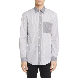 Chatteris Classic Fit Stripe Button-Up Shirt