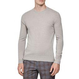 Jinks Slim Fit Crewneck Wool & Cashmere Sweater