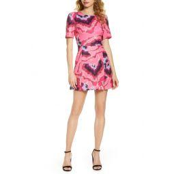 Annissa Whisper Print Minidress