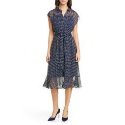 Dremah Silk Midi Dress
