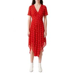 Raola Floral Embroidered Dress