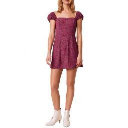 Verona Sweetheart Crepe Minidress
