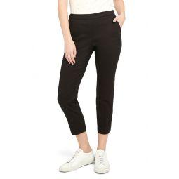 Pull-On Crop Pants