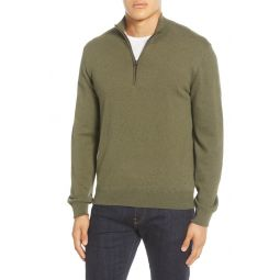 Regular Fit Half Zip Sweater
