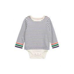 Breton Stripe Long Sleeve Bodysuit