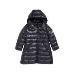 Moka Long Hooded Water Resistant Down Jacket