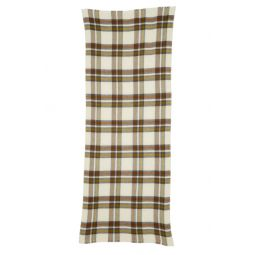 Suzanne Check Wool & Cashmere Scarf