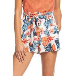 Steal the Sun Print Shorts