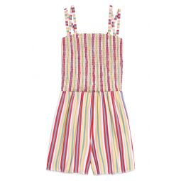 Strappy Smocked Romper