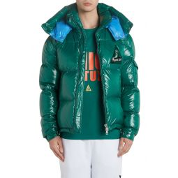 Wilson Hooded Quilted Down Puffer Jacket