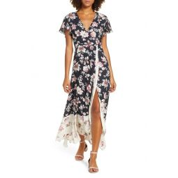 Aletta High/Low Maxi Dress