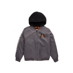 Hooded Air Bomber Jacket
