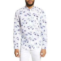 Flores Des Aguas Print Shirt