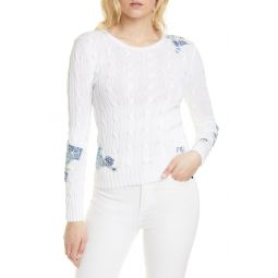Classic Cabled Patchwork Sweater