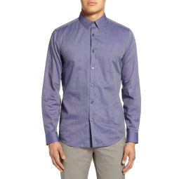 Sylvain Allis Slim Fit Button-Up Shirt