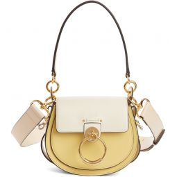 Small Tess Colorblock Leather Shoulder Bag