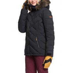 Faux Fur Trim PrimaLoft Puffer Jacket