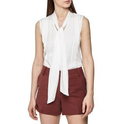 Trudie Pintuck Sleeveless Blouse