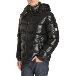 Maya Laque Quilted Down Jacket