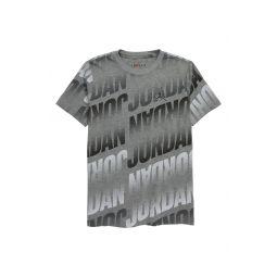 Clear Block Logo Print T-Shirt