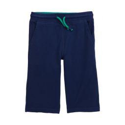 Jersey Drawstring Shorts