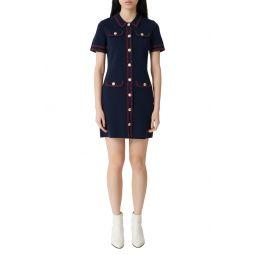 Rosie Knit Shirtdress