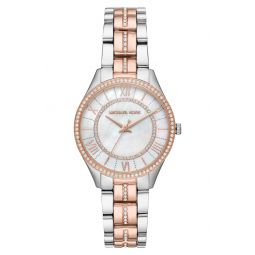 Lauryn Crystal Bracelet Watch, 33mm