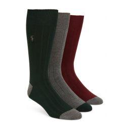 3-Pack Ribbed Socks