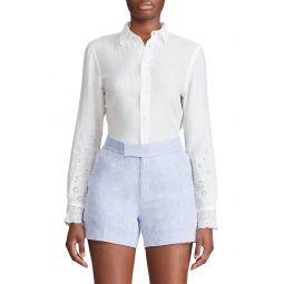 Georgia Linen Button-Up Shirt