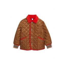 Culford Icon Stripe Trim Diamond Quilted Jacket