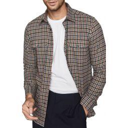 Ash Regular Fit Button-Up Overshirt