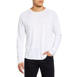Long Sleeve Linen T-Shirt