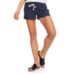 Oceanside Linen Blend Shorts