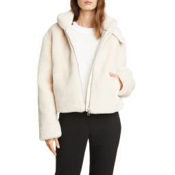 Faux Fur Crop Jacket