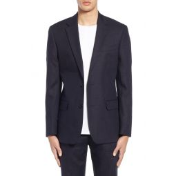Slim Fit Linen Suit Jacket