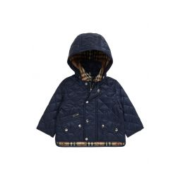 Lucca Quilted Hooded Jacket