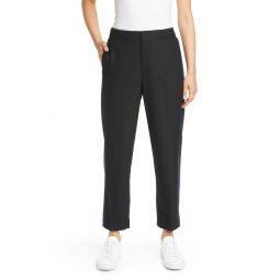 Ryanne Tuxedo Stripe Crop Pants