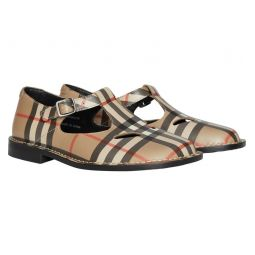 Mini Kipling Vintage Check Mary Jane Shoe