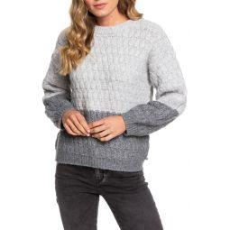 Polaroid Girl Colorblock Sweater