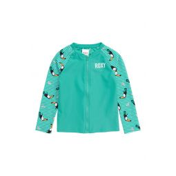 Toucan Print Long Sleeve Rashguard