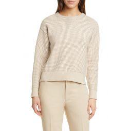 니트 Tricolor Stitch Sweater