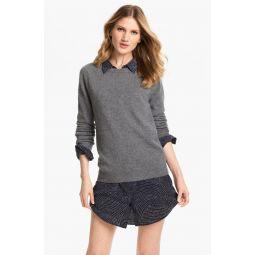 Sloane Crewneck Cashmere Sweater