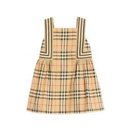 Astrid Check Poplin Dress