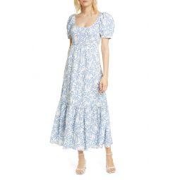 Kai Linen Midi Dress