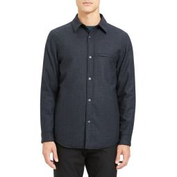 Kian Regular Fit Wool Shirt Jacket