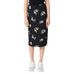 Japeni Floral Embroidered Skirt