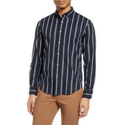 Chelsea Slim Fit Stripe Button-Down Shirt