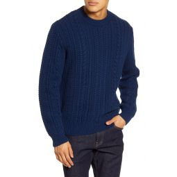 Heritage Regular Fit Cable Knit Sweater