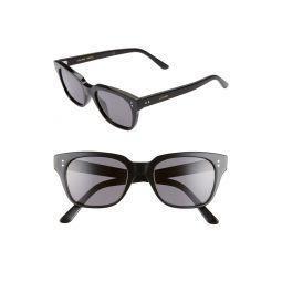 51mm Polarized Rectangle Sunglasses