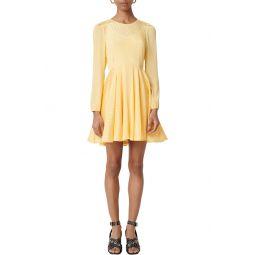 Roseau Long Sleeve Fit & Flare Dress